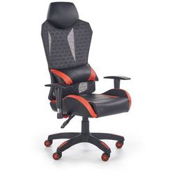 Fotel gamingowy DOMEN czarny/czerwony