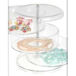 Pudełko, pojemnik na kosmetyki, biżuterię, drobiazgi - 4 poziomy