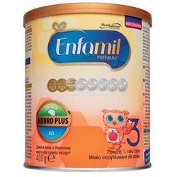 ENFAMIL 400g Premium 3 Mleko modyfikowane dla dzieci powyżej 1. roku życia