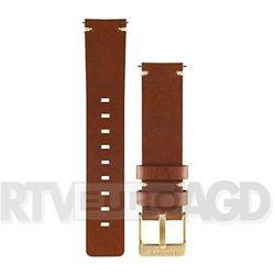 Garmin Skórzany pasek do zegarka Vivomove (jasnobrązowy)