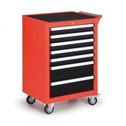 Pojemnik na narzędzia na kółkach, 7 szuflad