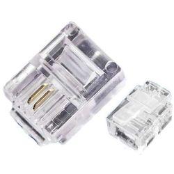 Wtyk modularny 6 pinowy (2 styki) RJ-11
