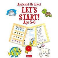 Książki do nauki języka, Angielski dla dzieci Let`s Start! Age 5-6 (opr. miękka)