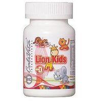 Witaminy i minerały, Lion Kids Multivitamin + Vitamin D