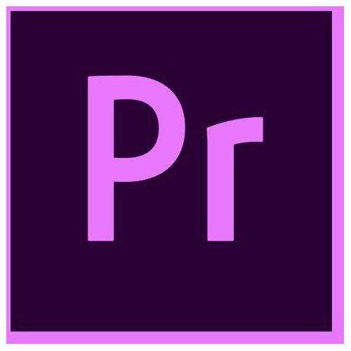 Programy graficzne i CAD, Adobe Premiere Pro CC MULTILANGUAGE (1 urządzenie) EDU