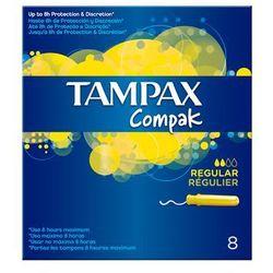 TAMPAX COMPAK TAMPONY REGULAR