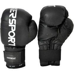 Rękawice bokserskie AXER SPORT A1337 Czarny (8 oz) + Zamów z DOSTAWĄ W PONIEDZIAŁEK!