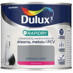 Emalia akrylowa Dulux Rapidry zimowa cisza 0 4 l