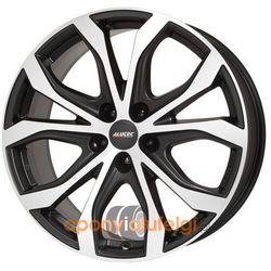 Alutec W10X RACING BLACK FRONTPOLISHED 8.50x19 5x114.3 ET40, DOT