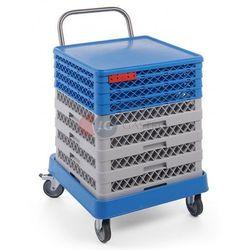 Wózek do transportu koszy 575x545x920 h Hendi 877197