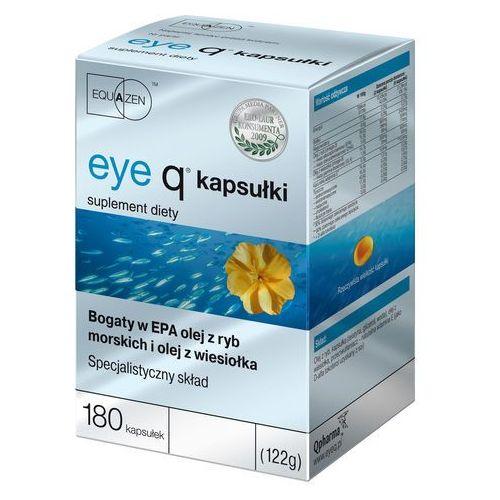 Leki poprawiające wzrok i słuch, Eye Q kaps. - 180 kaps.