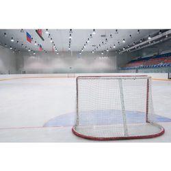 Siatka na bramkę do hokeja na lodzie o wymiarach: 1,93m x 1,22m, oczko 35mm, fi 4mm.