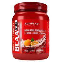 Aminokwasy, ActivLab BCAA XTRA INSTANT 500g o smaku cytrynowym
