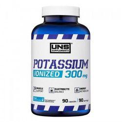 Minerały UNS POTASSIUM 90 kaps. Najlepszy produkt Najlepszy produkt tylko u nas!