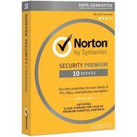 Oprogramowanie antywirusowe, Program SYMANTEC Norton Security 3.0 Premium (10 stan. 12 mies.) DARMOWY TRANSPORT