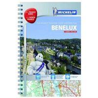 Mapy i atlasy turystyczne, Beneluks / Benelux. Belgia, Holandia, Luksemburg, Francja Północna. Atlas samochodowo-turystyczny. Wyd. 2014 Michelin