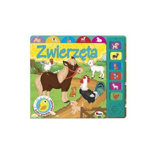 Książki dla dzieci, Zwierzęta. ODKRYWAM DŹWIĘKI (opr. twarda)
