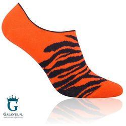 Skarpetki męskie Tygrys 005-098 Pomarańczowe