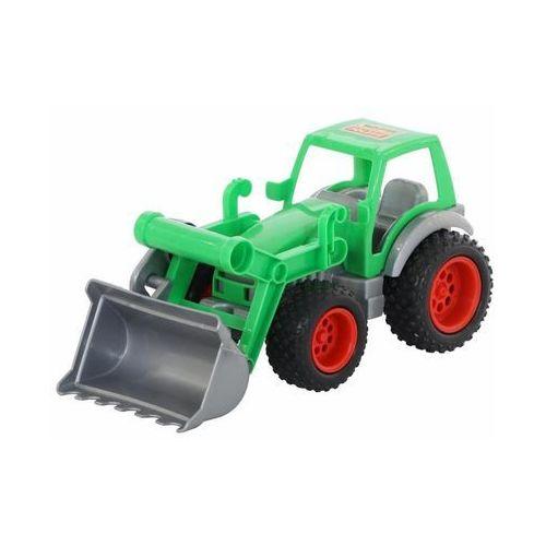 Jeżdżące dla dzieci, Traktor- ładowarka w siatce