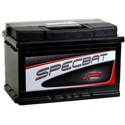 Akumulator SPECBAT 74Ah 640A EN PRAWY PLUS niski