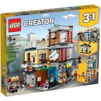 Klocki dla dzieci, 31097 SKLEP ZOOLOGICZNY I KAWIARENKA (Townhouse Pet Shop & Café) KLOCKI LEGO CREATOR wyprzedaż