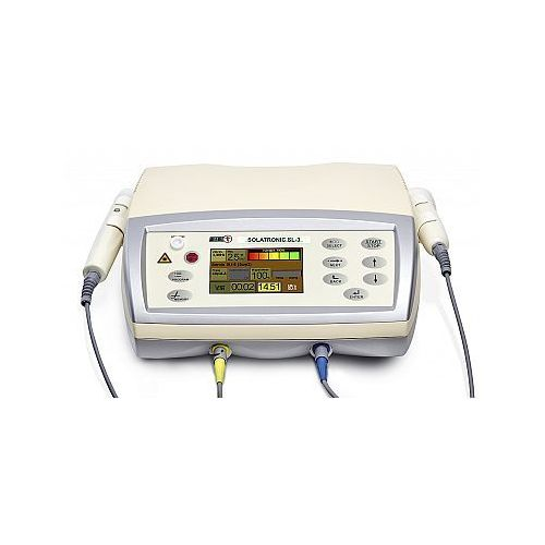 Pozostały sprzęt rehabilitacyjny, Aparat do ultradźwięków i laseroterapii Solatronic SL-3