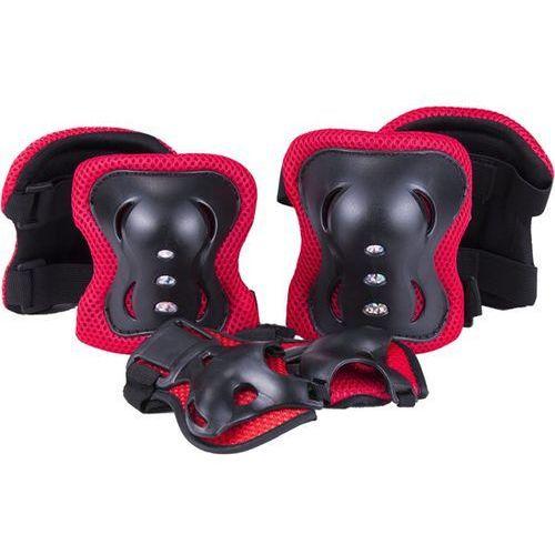 Ochraniacze na ciało, Knee, Elbow and Wrist Potector, Size M, Red