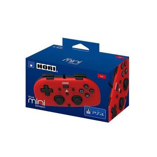 Pozostałe kontrolery do gier, Hori Wired Mini Gamepad (czerwony) - produkt w magazynie - szybka wysyłka!