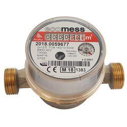 Wodomierz do ciepłej wody Ecomess Picoflux 1/2 2,5 m3/h