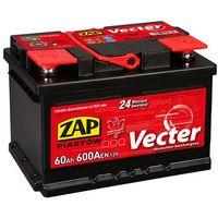 Akumulatory samochodowe, Akumulator ZAP Vecter 60Ah 600A PRAWY PLUS