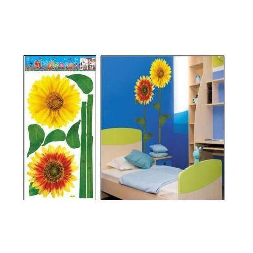 Naklejki na ściany, NAKLEJKA NAKLEJKI ŚCIANA MEBLE słoneczniki