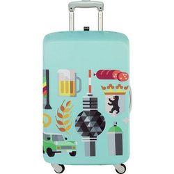 Pokrowiec na walizkę LOQI Hey Berlin