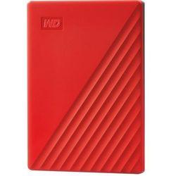 Dysk WD My Passport 2TB HDD Czerwony