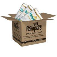 Pieluchy jednorazowe, Pampers Premium Care Pieluchy 1 Newborn + 2 Mini 168 szt.