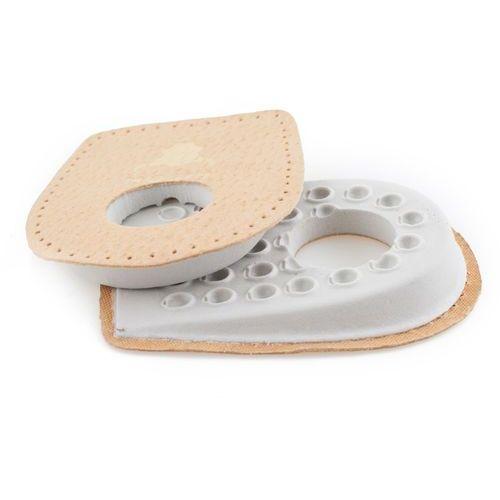 Inne akcesoria obuwnicze, PODPIĘTKI do butów NA OSTROGI piętowe skóra - Podpiętki do butów