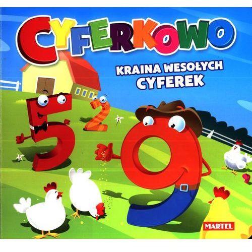 Książki dla dzieci, Cyferkowo Kraina wesołych cyferek (opr. kartonowa)