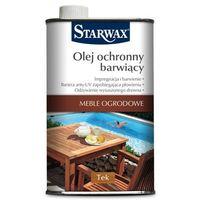 Podkłady i grunty, Olej barwiący do mebli Starwax tek 500 ml