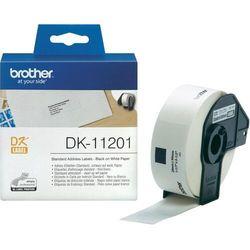 Brother etykiety adresowe 29 mm. x 90 mm. DK-11201, DK11201