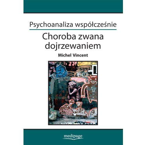 Książki o zdrowiu, medycynie i urodzie, PSYCHOANALIZA WSPÓŁCZEŚNIE CHOROBA ZWANA DOJRZEWANIEM MICHEL VINCENT (opr. miękka)