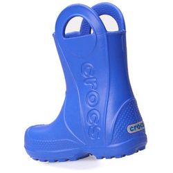 Kalosze Crocs Handle It Rain Boot Sea Blue 12803-430 - Niebieski