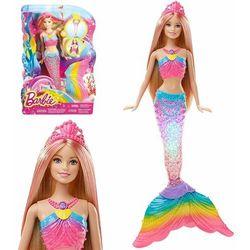 Lalka MATTEL Barbie Tęczowa syrenka