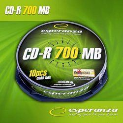 CD-R ESPERANZA 700 MB 56x Cake 10 szt.