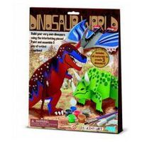 Kreatywne dla dzieci, Zrób to sam - Świat Dinozaurów 4M