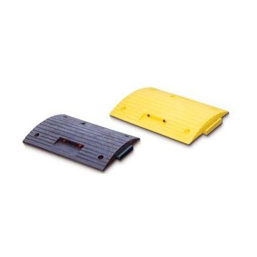 Pozostała odzież robocza i BHP, Próg zwalniający prosty kolor żółty i czarny, wym. 500 x 400 mm, wys. 50 mm