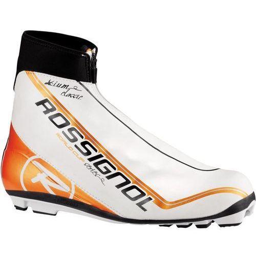 Buty narciarskie, Rossignol X-IUM WC Classic FW Biały 39,5 EU Pomarańczowa 2013-2014