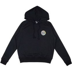 bluza SANTA CRUZ - Patchwork Dot Hood Black (BLACK) rozmiar: 14