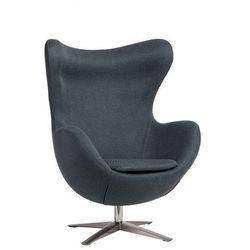 Fotel wypoczynkowy Eggi 3 - ciemnoniebieski