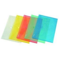 Teczka kopertowa PP na zatrzask A7 w transparentnych kolorach DONAU ekologiczna
