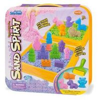 Kreatywne dla dzieci, SAND SPIRIT Zestaw podróżny bud. i zamki (MX0110831 RUSSEL)