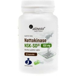 Aliness - Nattokinase NSK-SD 100mg - 60kaps